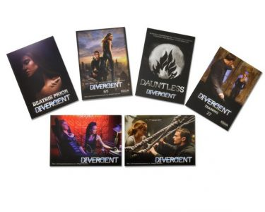 Divergent - Premium Trading Cards - Foil Pack (6 cards per pack)