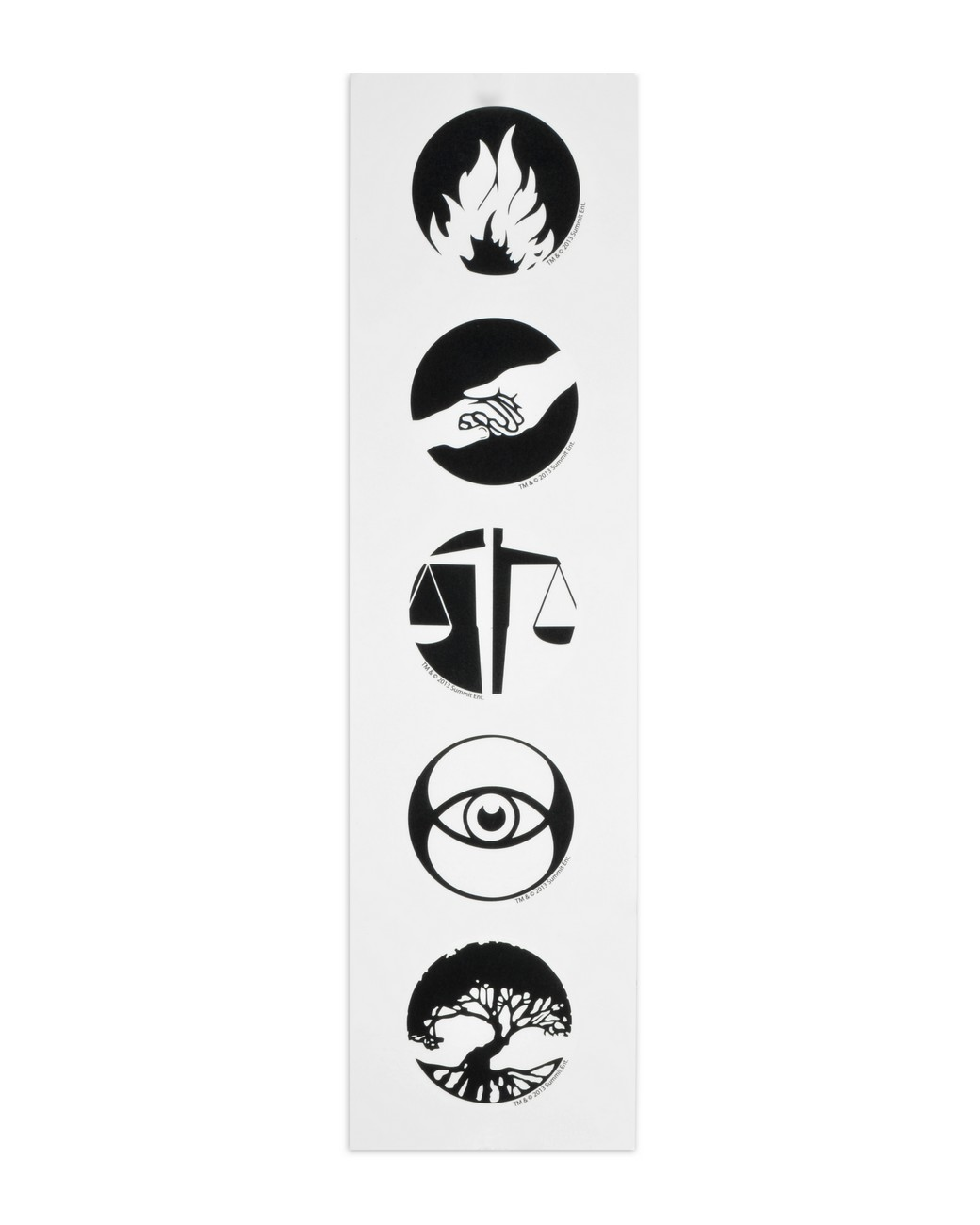 divergent faction symbols temporary tattoos necaonline