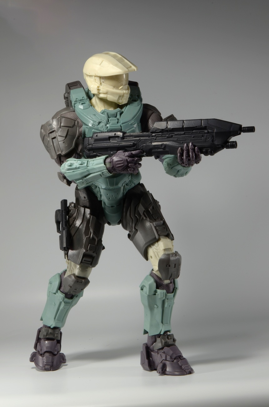 San Diego Motorcycle >> Behind the Scenes: Halo Master Chief 18″ Action Figure Update!