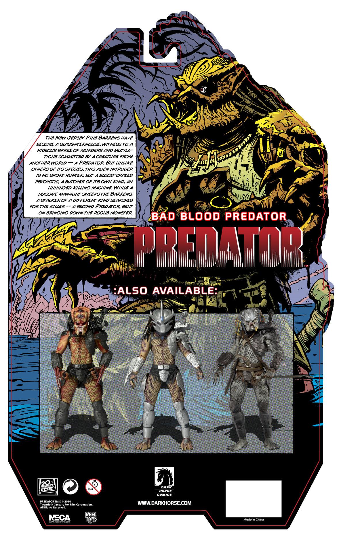 Closer Look: Predator Bad Blood Deluxe 7″ Scale Action Figure