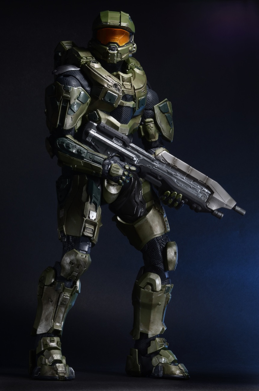 4898d8a277 Closer Look  Halo 18″ Master Chief Action Figure