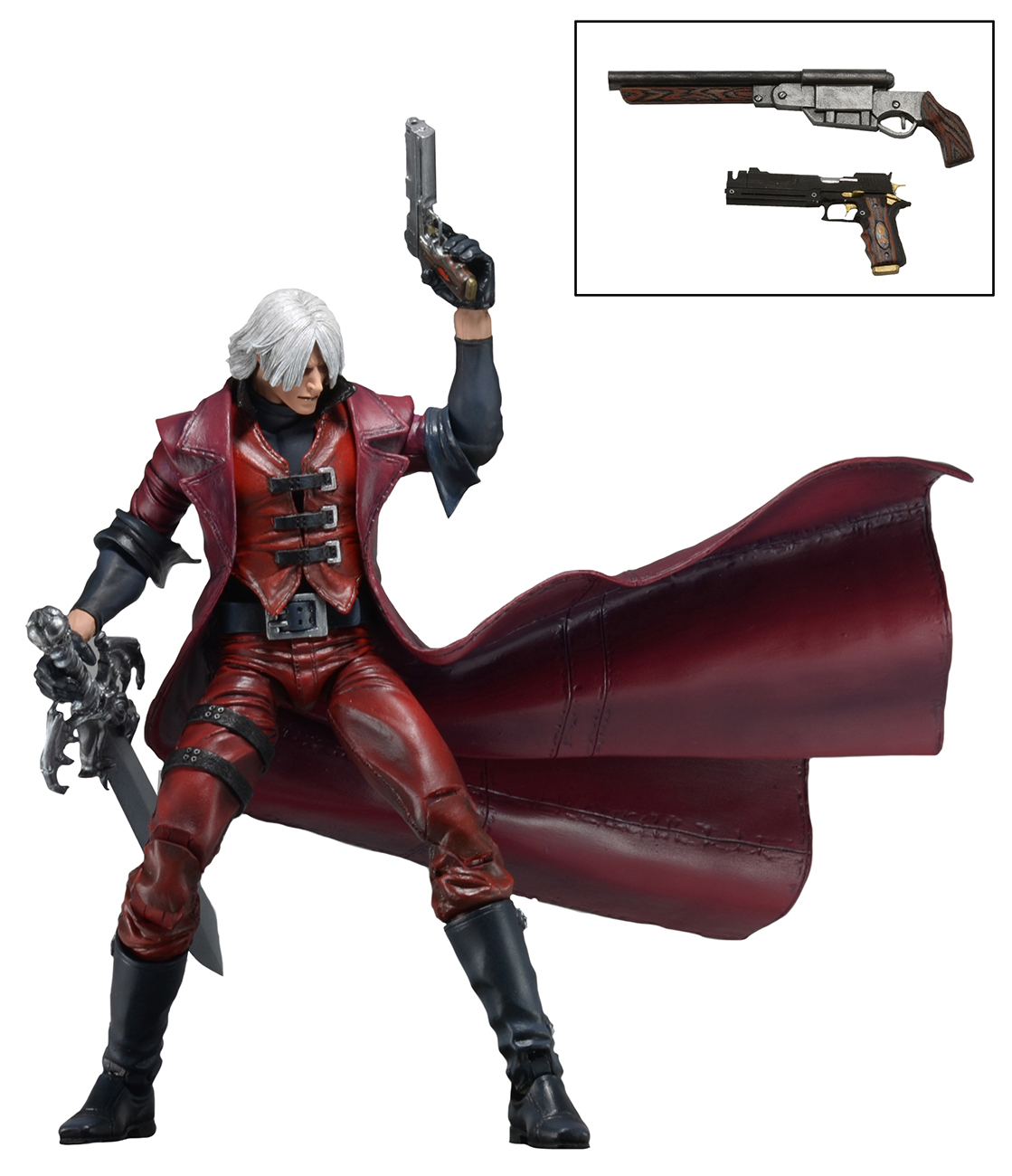"Devil May Cry 7"" Action Figure Ultimate Dante 