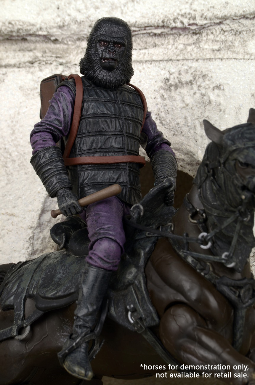 """Planet of the Apes Series 1 GORILLA SOLDIER New 7/"""" Figure//Neca"""