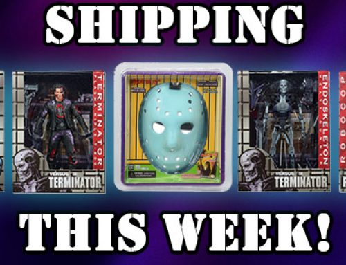 SHIPPING: Friday the 13th Glow-in-the-Dark Mask, Robocop Vs. Terminator Figures