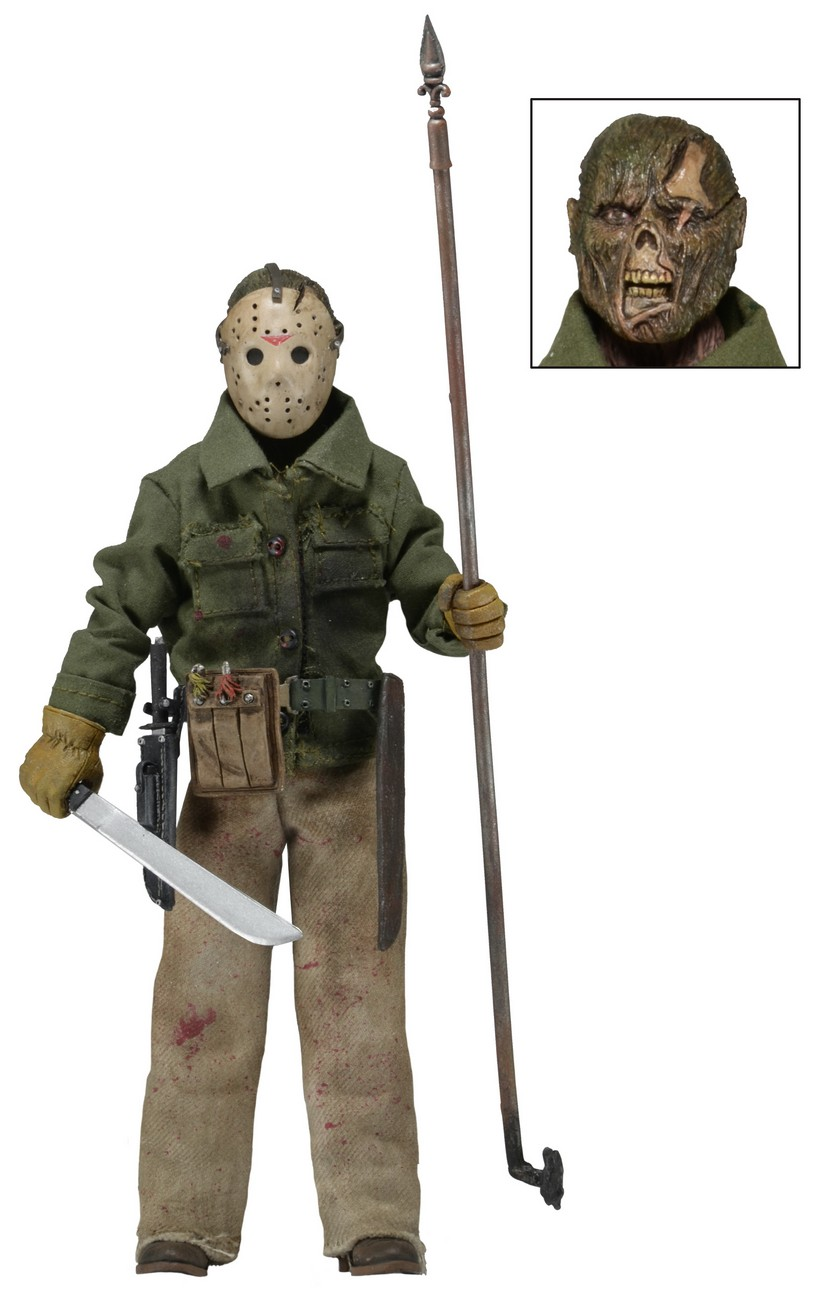 Toys For 13 : Friday the th part clothed quot action figure jason