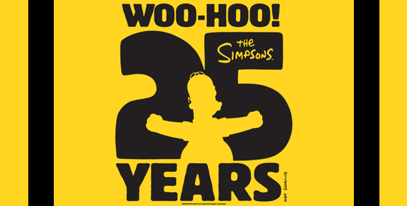 25th anniversary simpsons