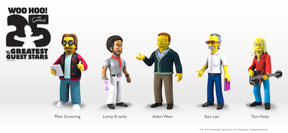 Series 5 Simpsons PR