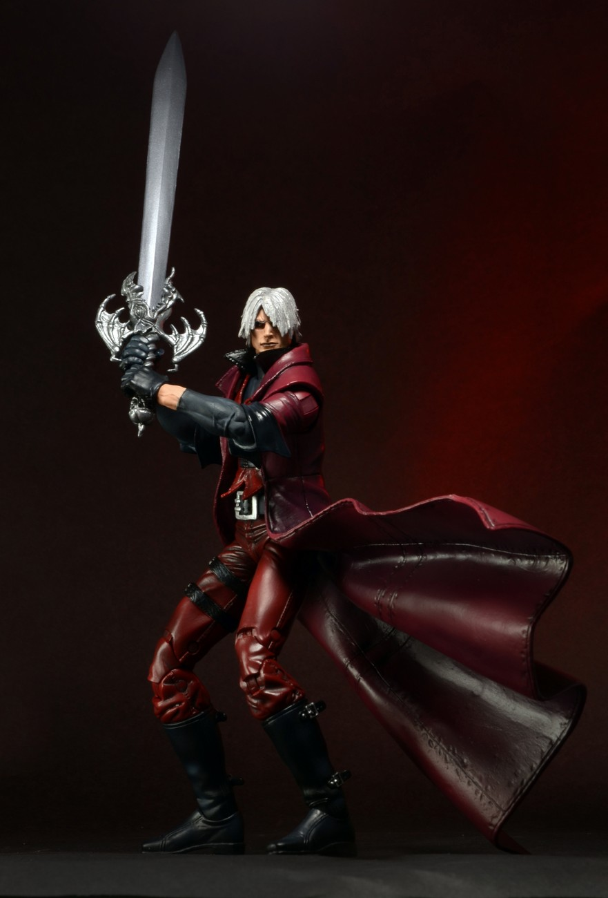Closer Look: Devil May Cry – Ultimate Dante 7″ Action Figure!