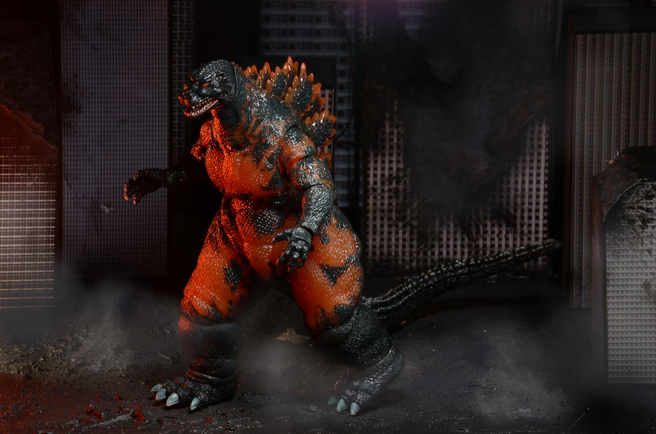 Shipping This Week 1995 Burning Godzilla And Planet Of