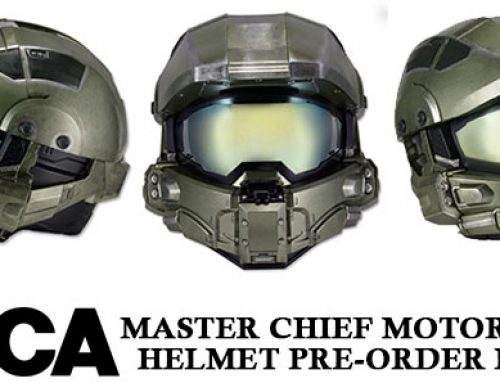 Official Pre-Order Links for the Master Chief Motorcycle Helmet!