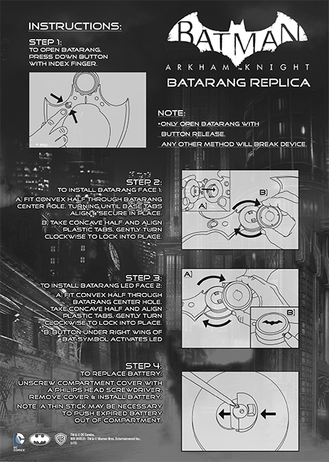 BatarangInstructions