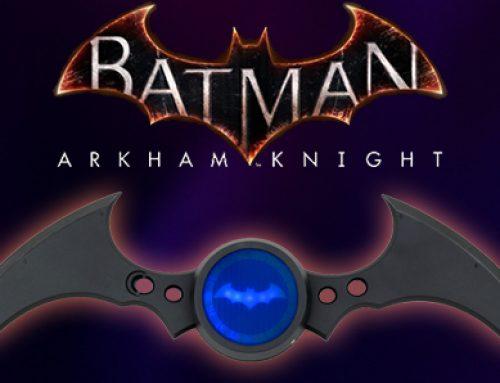 Batman: Arkham Knight Batarang Replica Coming Soon to GameStop!