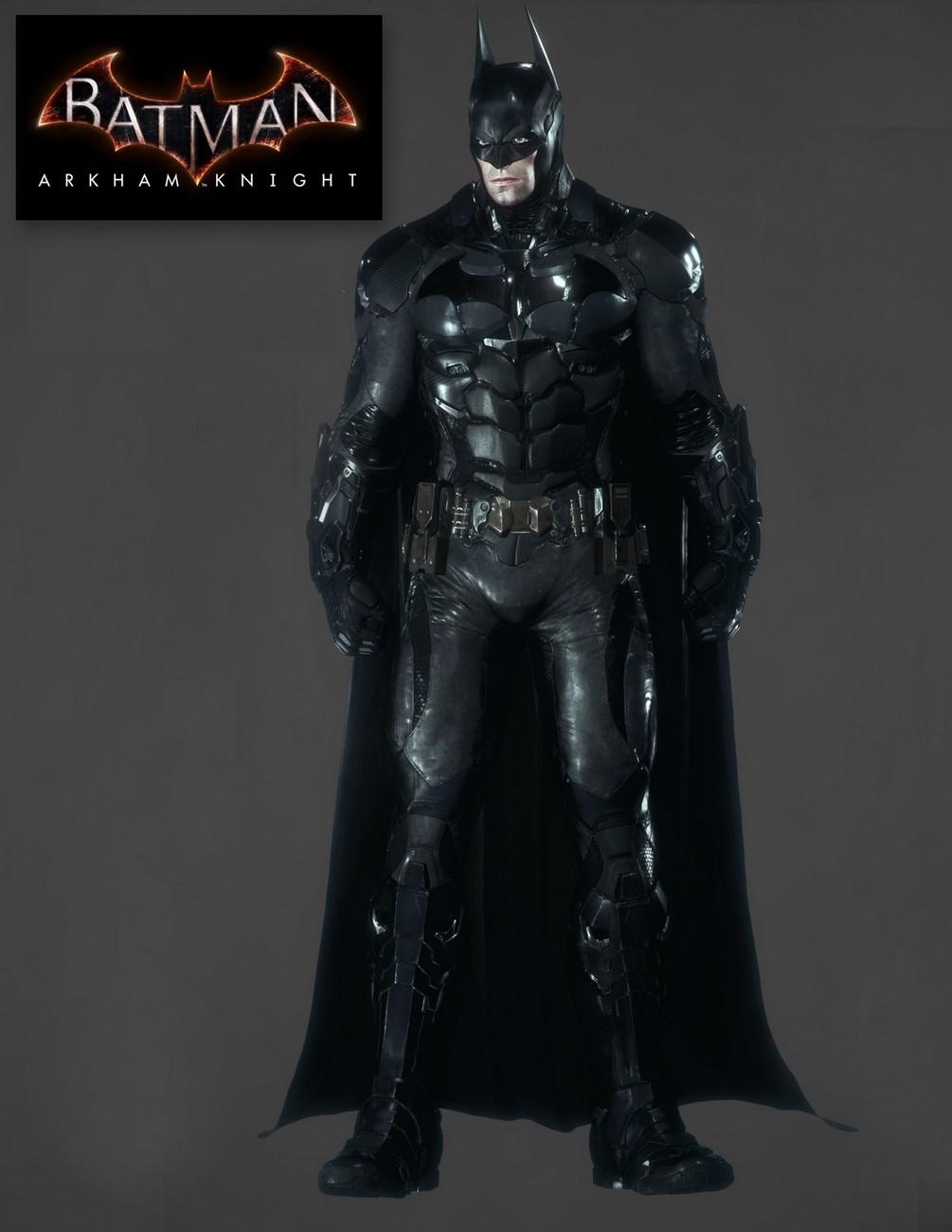 Closer Look: Batman Arkham Knight 1/4 Scale Action Figure ...