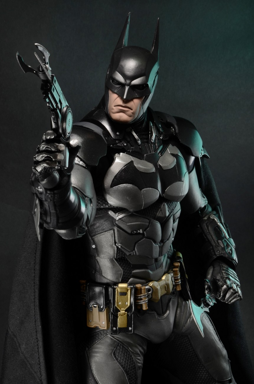 Knight Of Wands As Advice: Closer Look: Batman Arkham Knight 1/4 Scale Action Figure