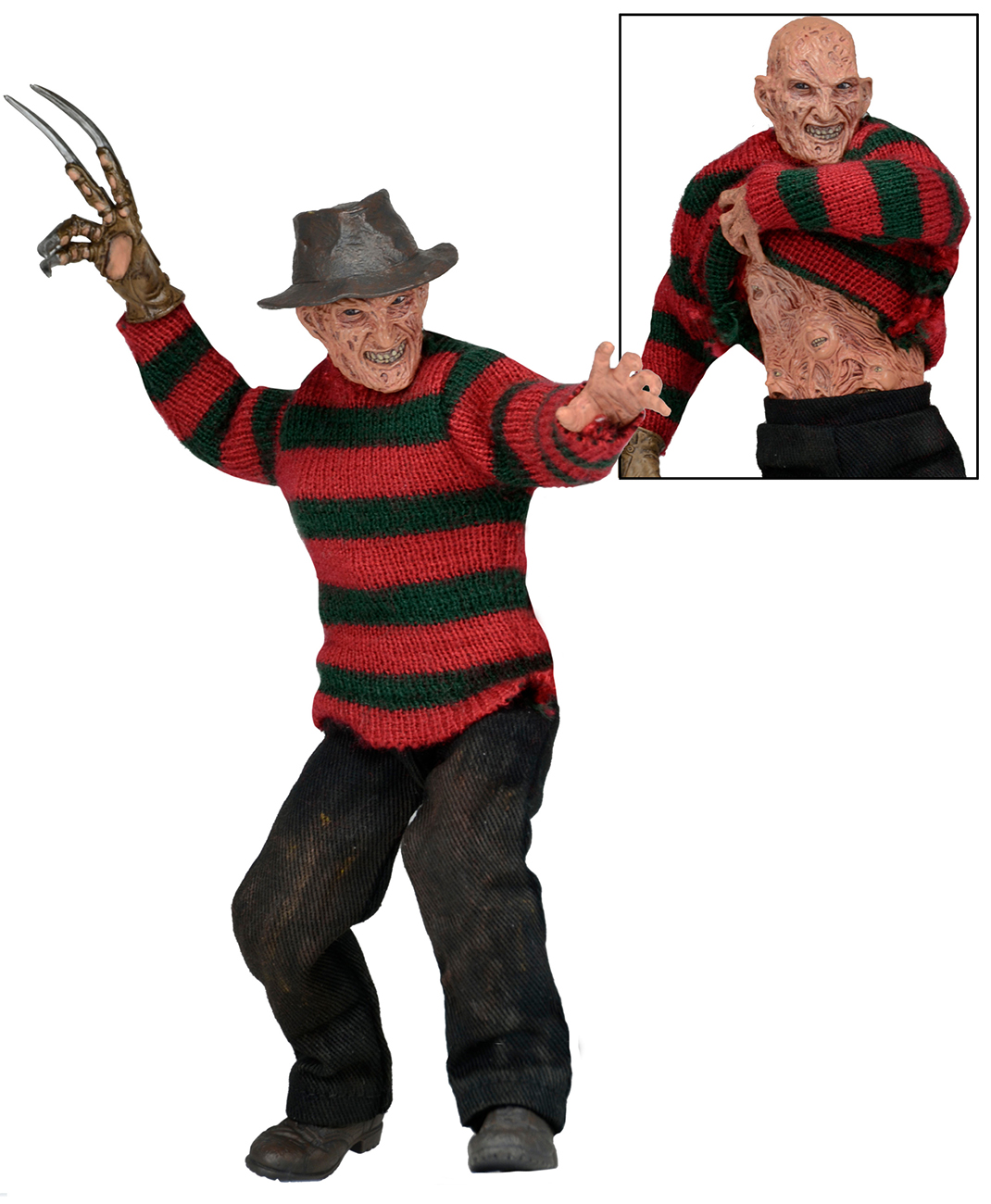 Jason Toys For Boys : Nightmare on elm street part quot clothed figure freddy
