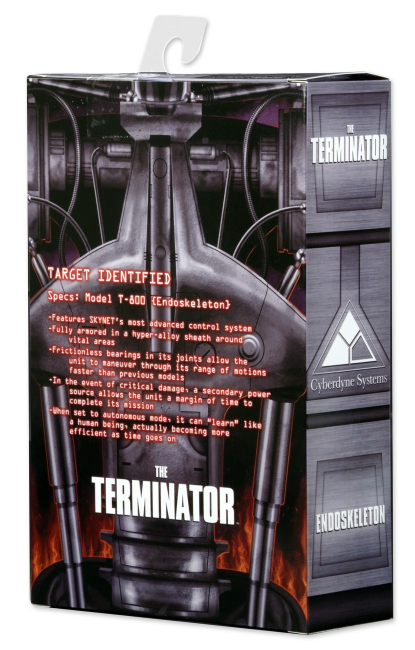 The Terminator  U2013 7 U2033 Action Figure  U2013 Endoskeleton