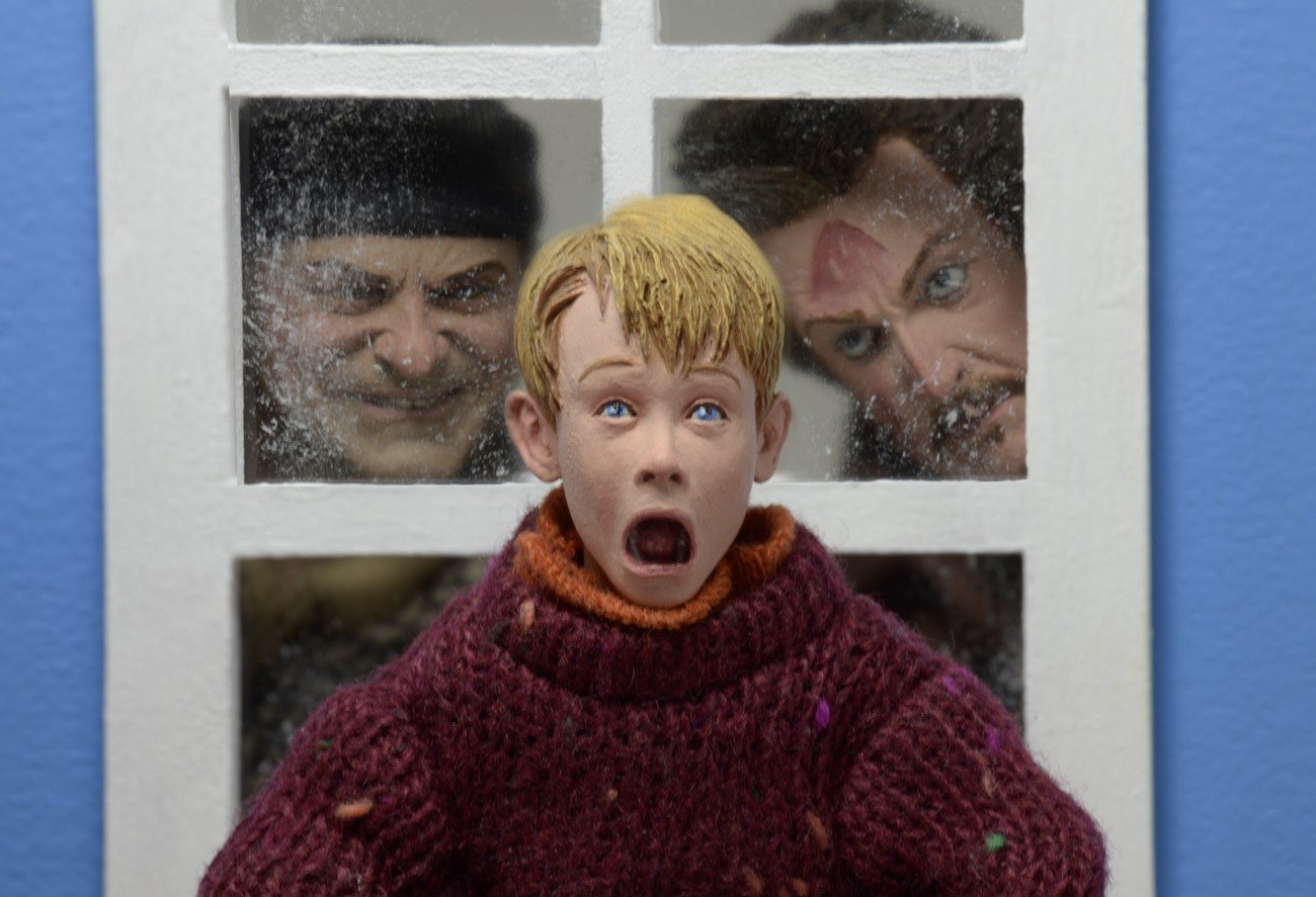 Home Alone 8 Clothed Action Figures Kevin And Wet