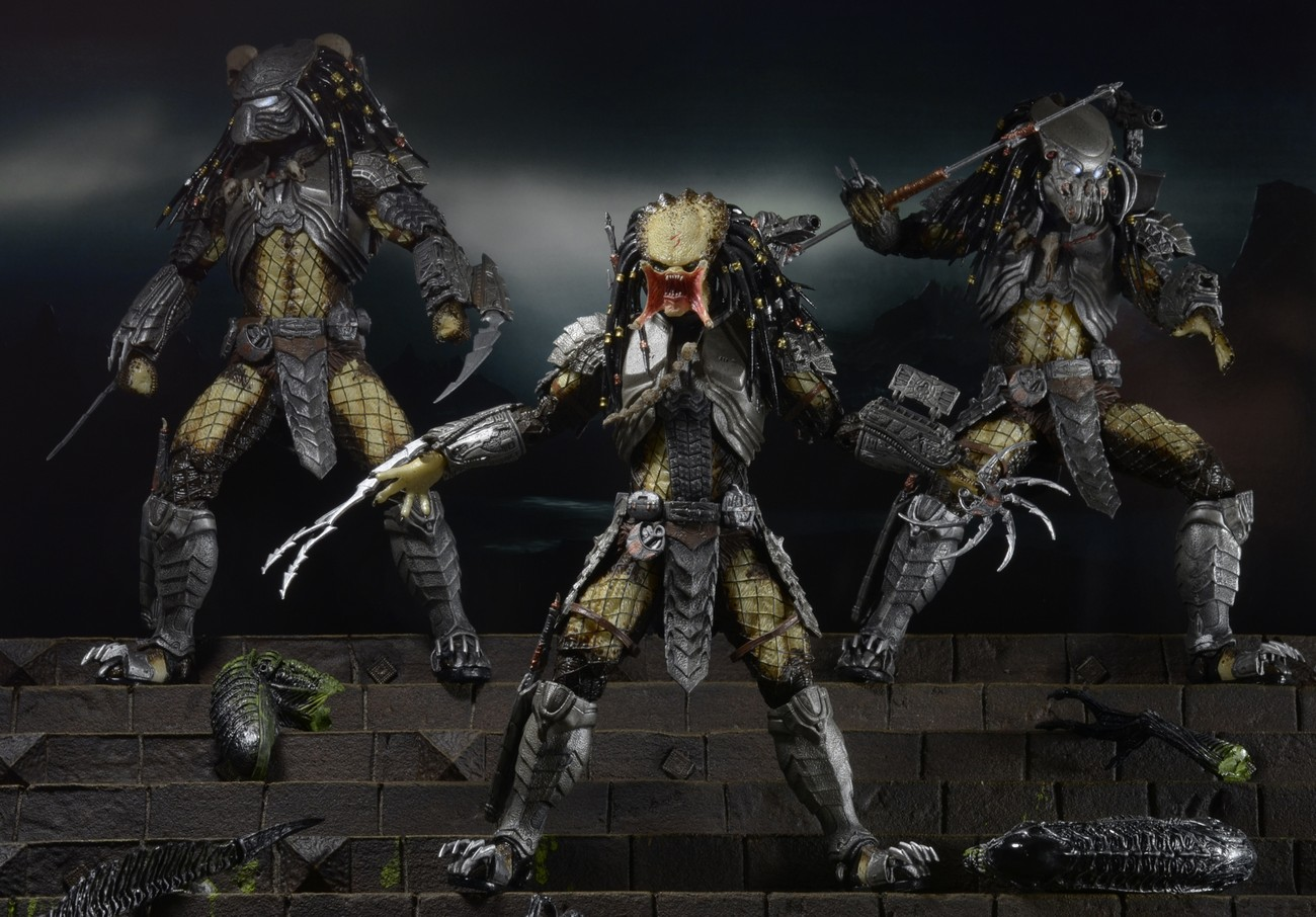 Closer Look Predator Series 14 Alien Vs Predator Action Figures