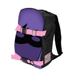 "Kick-Ass 2 – Hit-Girl ""Mask"" Double-Buckle Backpack"