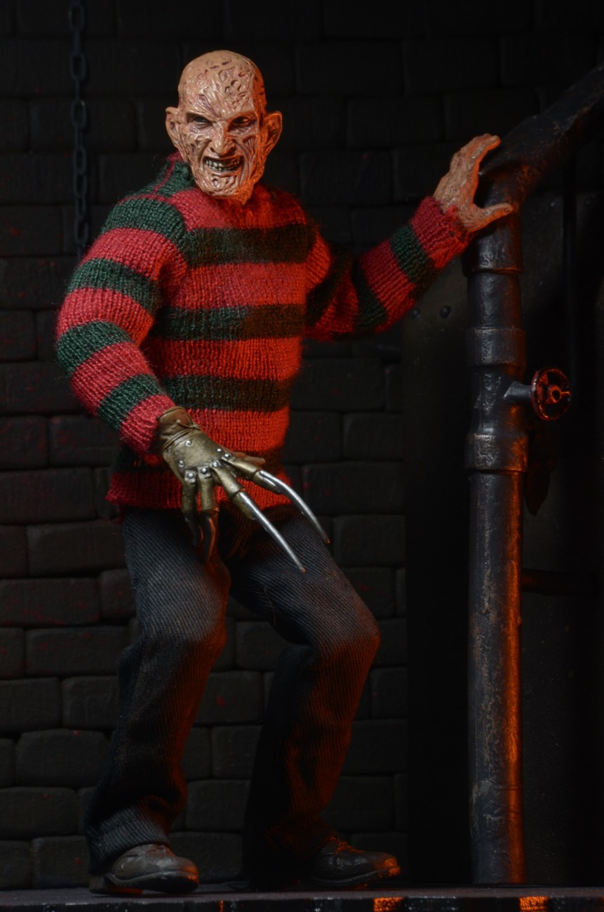 closer look  nightmare on elm street dream warriors freddy 8 u201d clothed figure