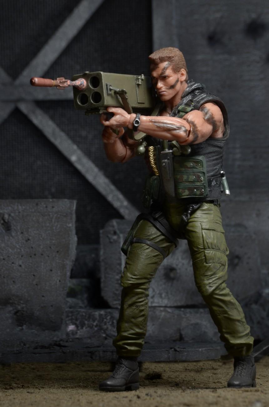 """NECA Commando Colonel John Matrix 7/"""" Action Figure 30th ANNIVERSARY Art Box"""