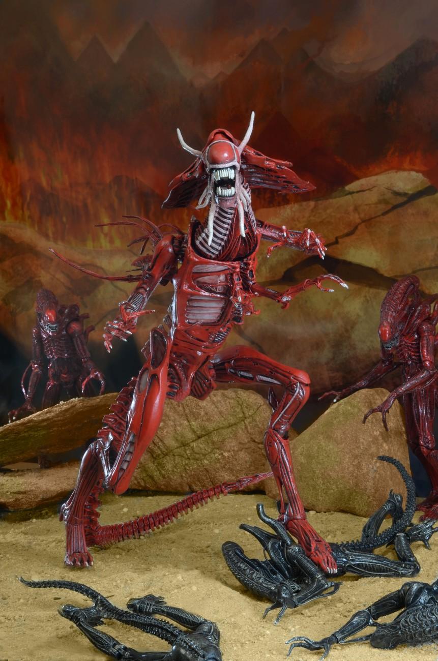 Anime robot toy Alien VS Predator ALIENS Red Queen Mother ... |Alien Queen Mother