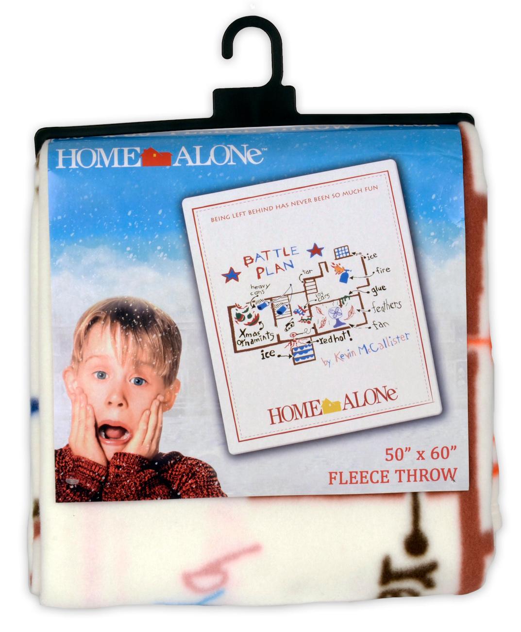 Home Alone Battle Plan Fleece Throw