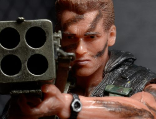 "Closer Look: Commando 30th Anniversary Ultimate John Matrix 7"" Scale Action Figure"