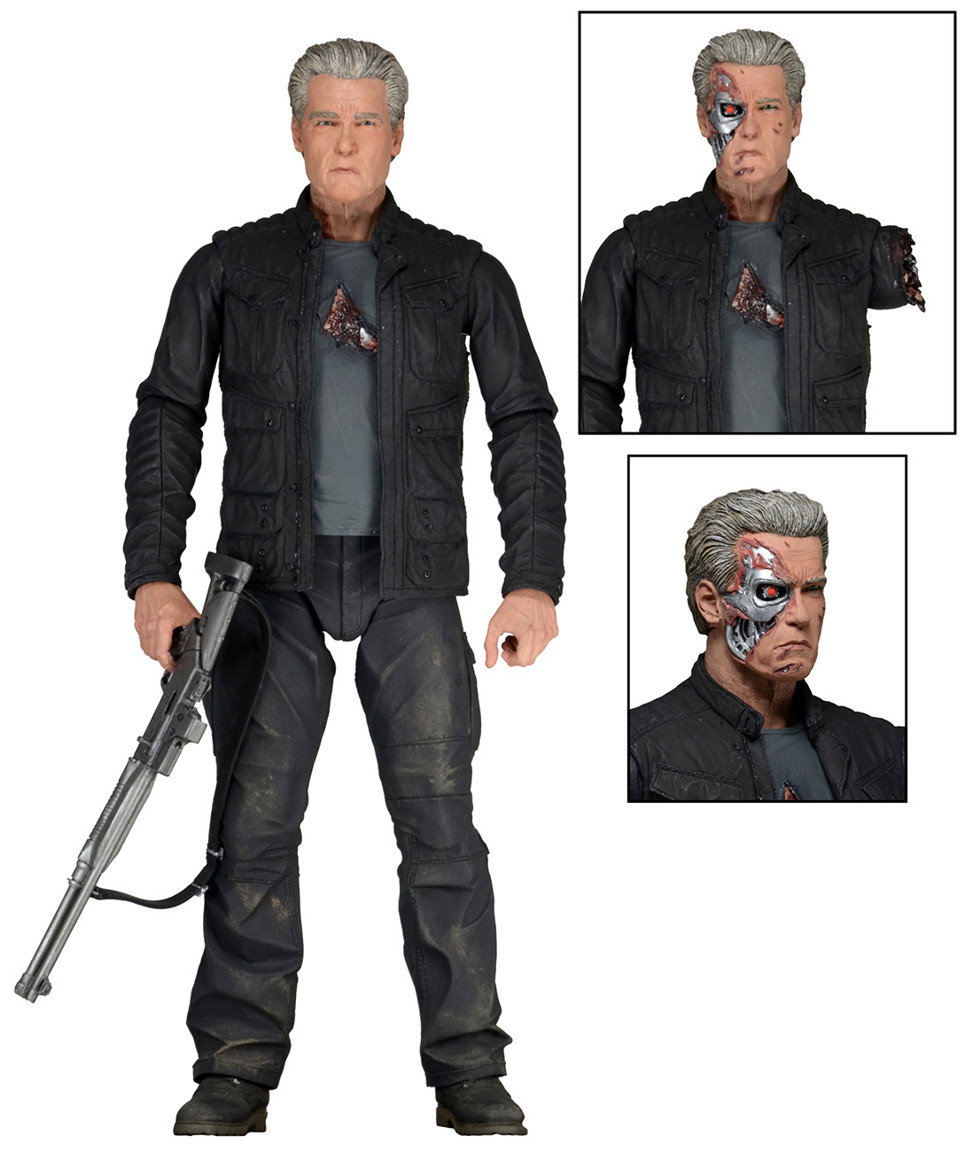 Terminator Genisys figurine Scalers Endoskeleton 5 cm