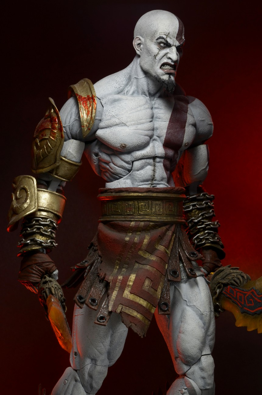 "DISCONTINUED – God of War III – 7"" Scale Action Figure"