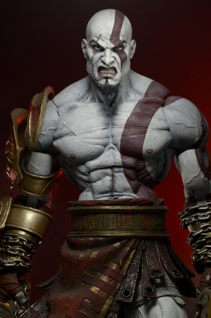 """DISCONTINUED – God of War III – 7"""" Scale Action Figure ..."""