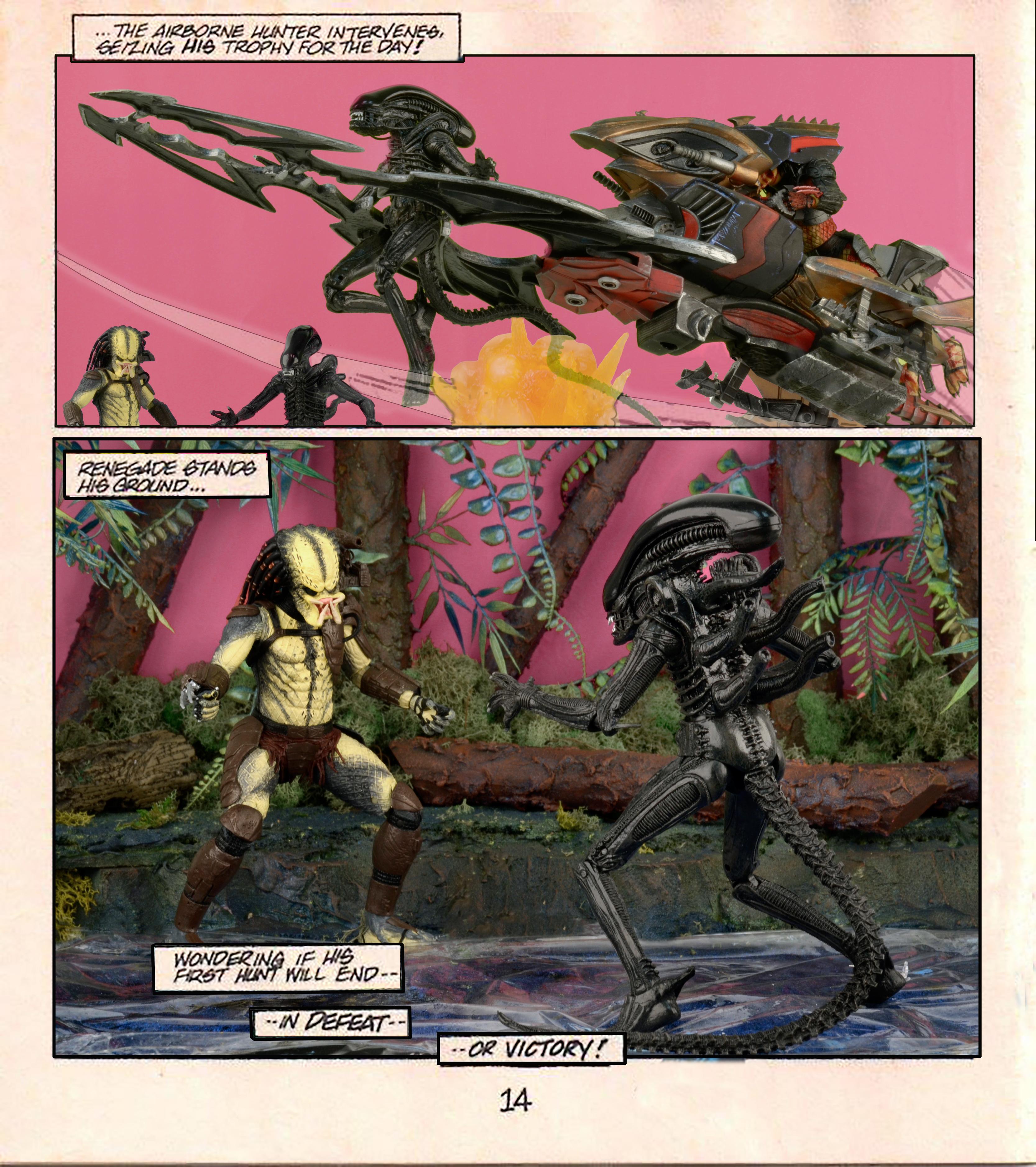 San Diego Home Decor Stores Special Tribute Gallery Aliens Vs Predator Mini Comic