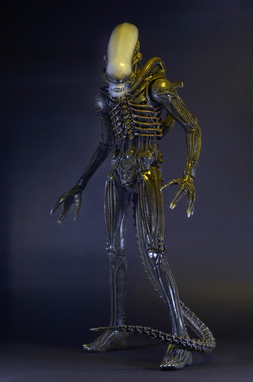 Alien u2013 1/4 Scale Action Figure u2013 1979 Alien & Closer Look: 1979 Alien 1/4 Scale Action Figure | NECAOnline.com