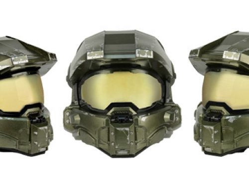 Master Chief Motorcycle Helmet Update: New Info, Photos and Packaging!
