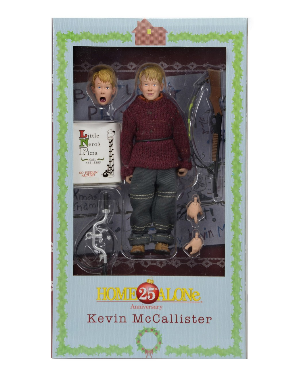 Shipping: Home Alone 8″ Clothed Action Figures And