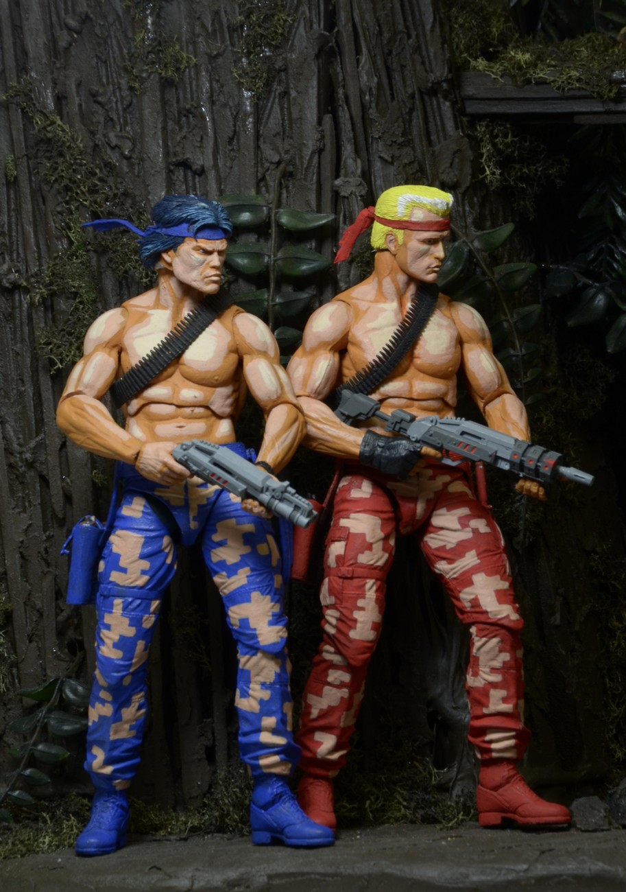 "DISCONTINUED – Contra – 7"" Scale Action Figures – Bill and ..."