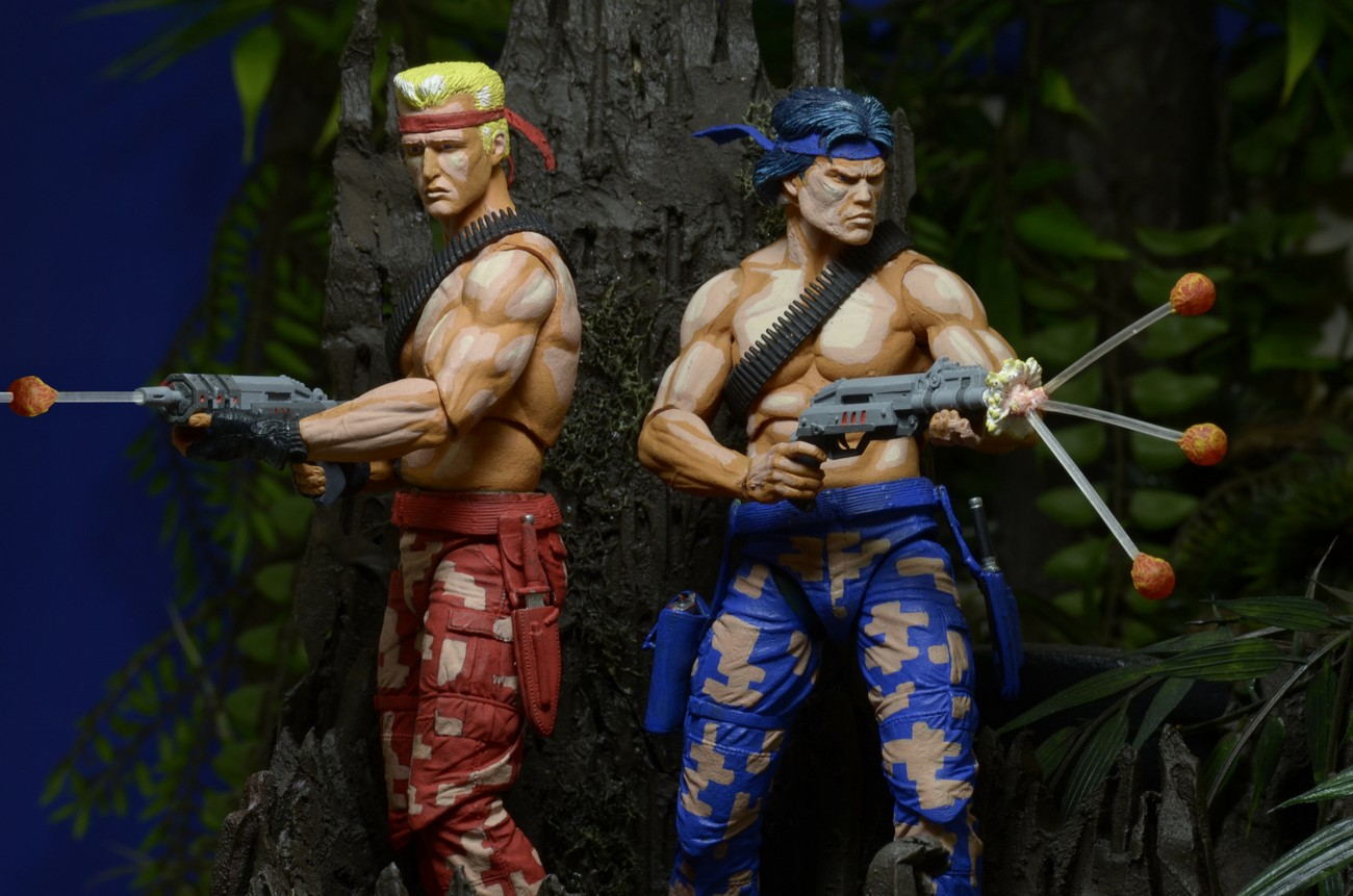 Contra 7 Quot Scale Action Figures Bill And Lance 2 Pack