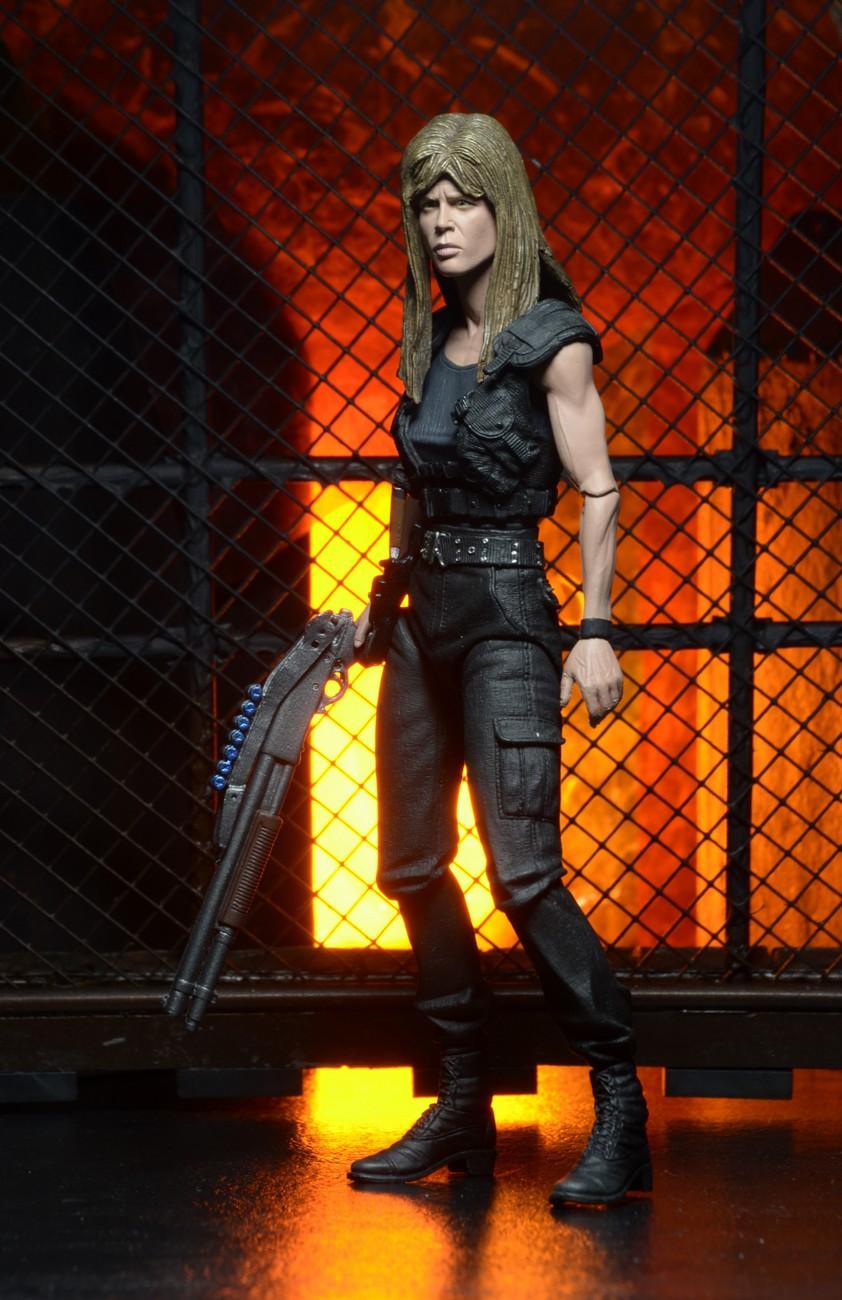 Terminator 2 u2013 7u2033 Action Figure u2013 Ultimate Sarah Connor (Linda Hamilton)  sc 1 st  Neca & Closer Look: Terminator 2 Ultimate Sarah Connor 7u2033 Scale Action ...
