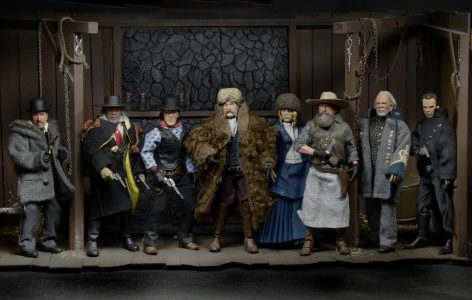 Closer Look The Hateful 8 Clothed 8 Action Figures