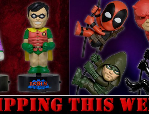 Shipping this Week: Scalers Wave 5, Robin and Joker Body Knockers