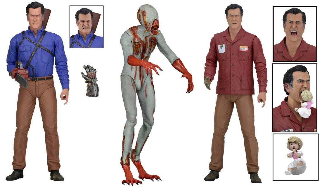 discontinued ash vs evil dead 7 scale action figure series 1