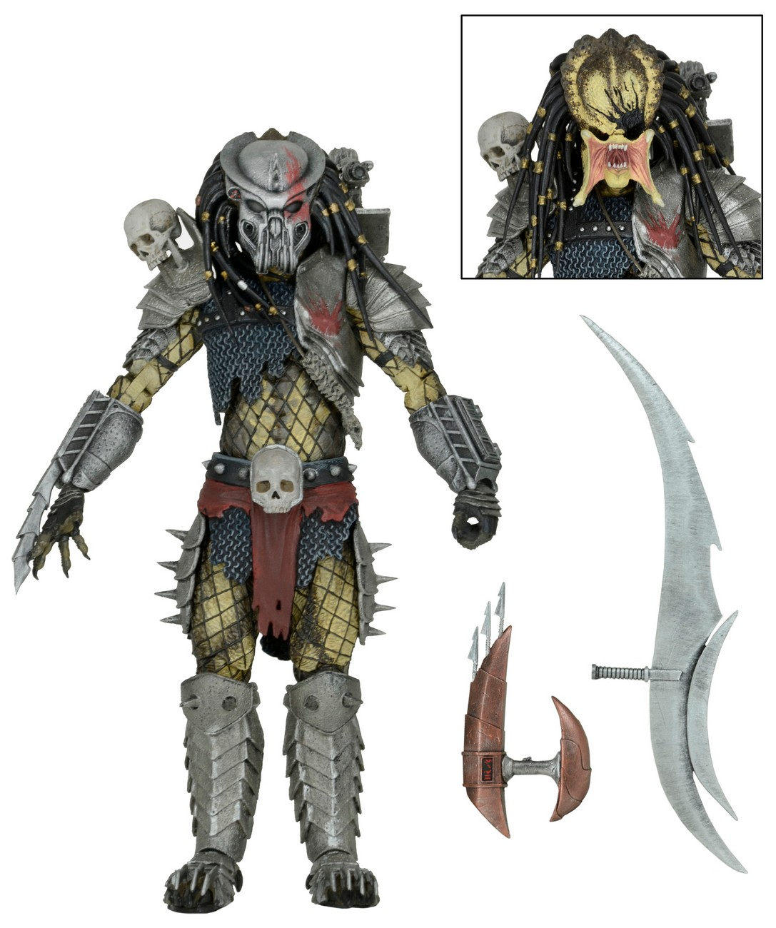 """Predator 7"""" Scale Action Figure Ultimate Scarface Video Game ..."""