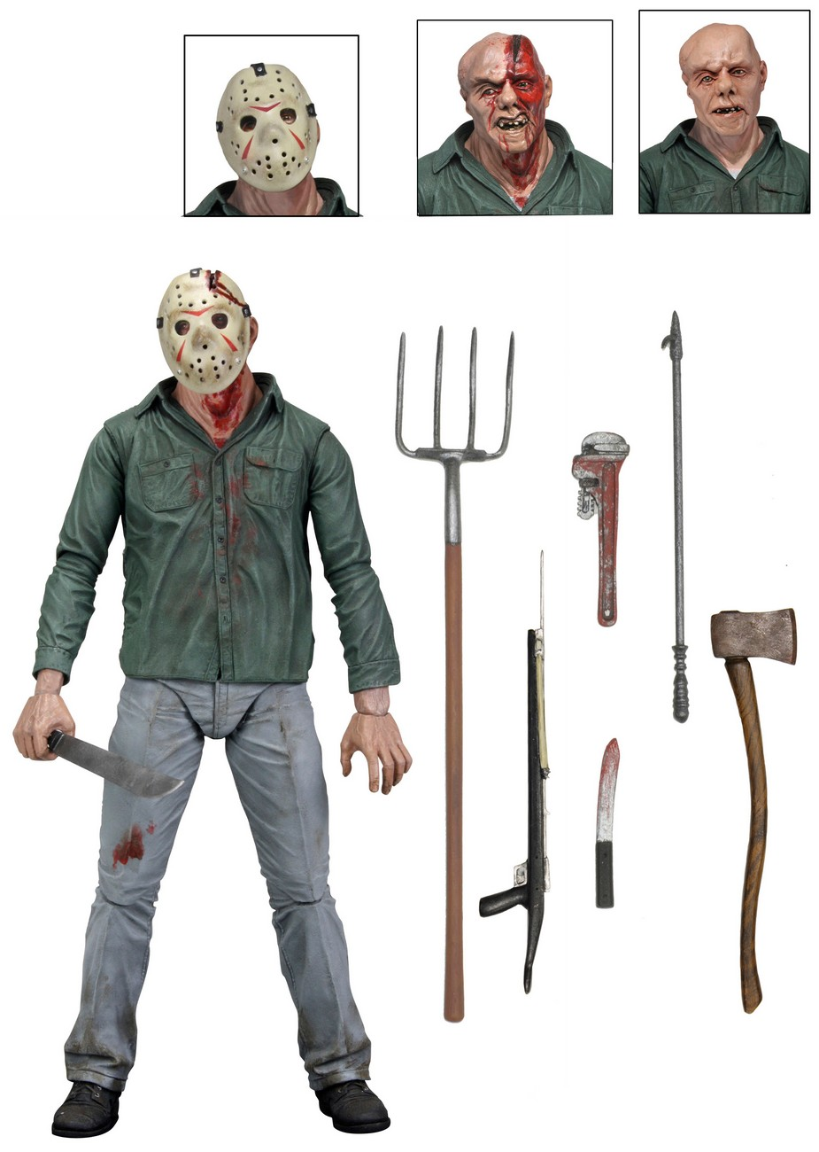 Jason Toys For Boys : Friday the th ″ scale action figure ultimate part