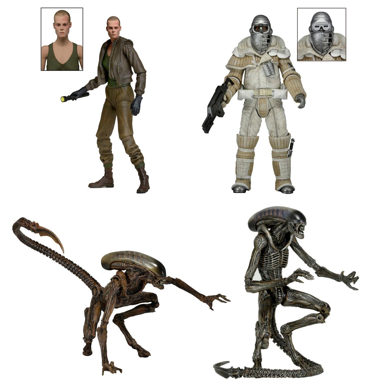 Home Decor Wholesale Online Aliens 7 Quot Scale Action Figures Series 8 Necaonline Com