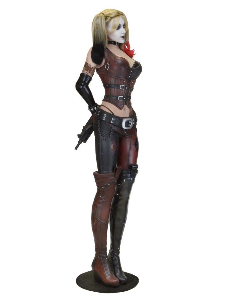 Batman Arkham City Life Size Harley Quinn Foam Replica