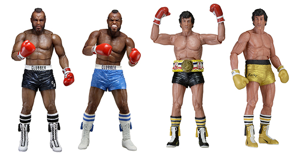 """NECA Clubber Lang Rocky Movie 40th Anniversary 7/"""" Action Figure 2016 No Box"""