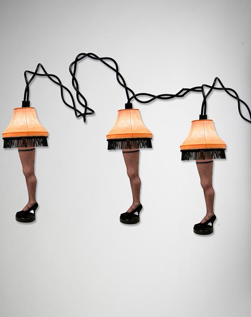 Leg Lamp String Lights : A Christmas Story String Leg Lights NECAOnline.com