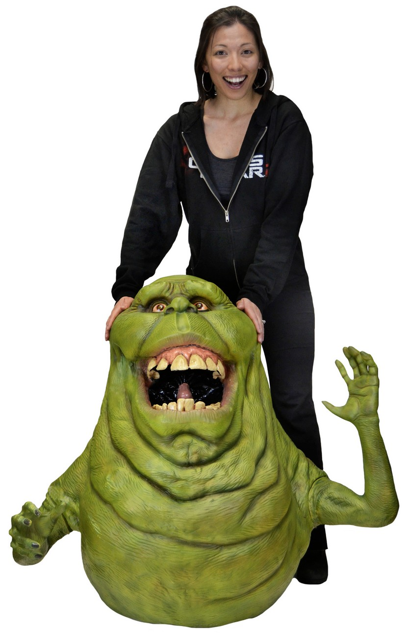 DISCONTINUED -Ghostbusters – Large Scale Foam Figure – Slimer