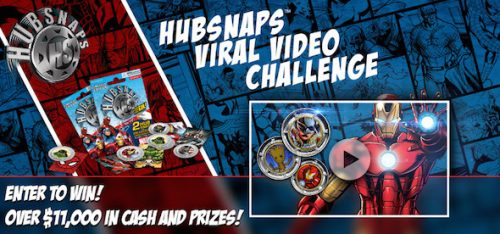 Enter the MARVEL HUBSNAPS VIRAL VIDEO CHALLENGE - Over $11,000 in Cash and Prizes!