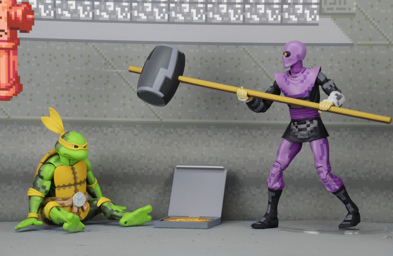 Ninja Turtles Arcade Cabinet Sdcc Exclusive Tmnt Arcade Turtles And Foot Clan Box Sets Video